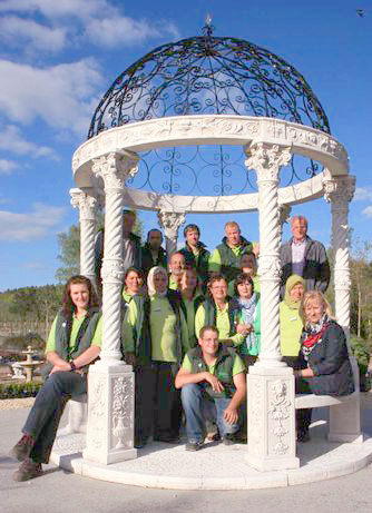 Das Team der Baumschule Werner
